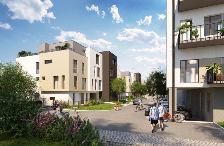 Byty u parku Na Vackově nabízí synergii moderního bydlení a přírody