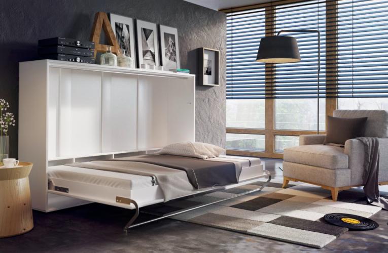 Sklápěcí postele vám ušetří dost místa